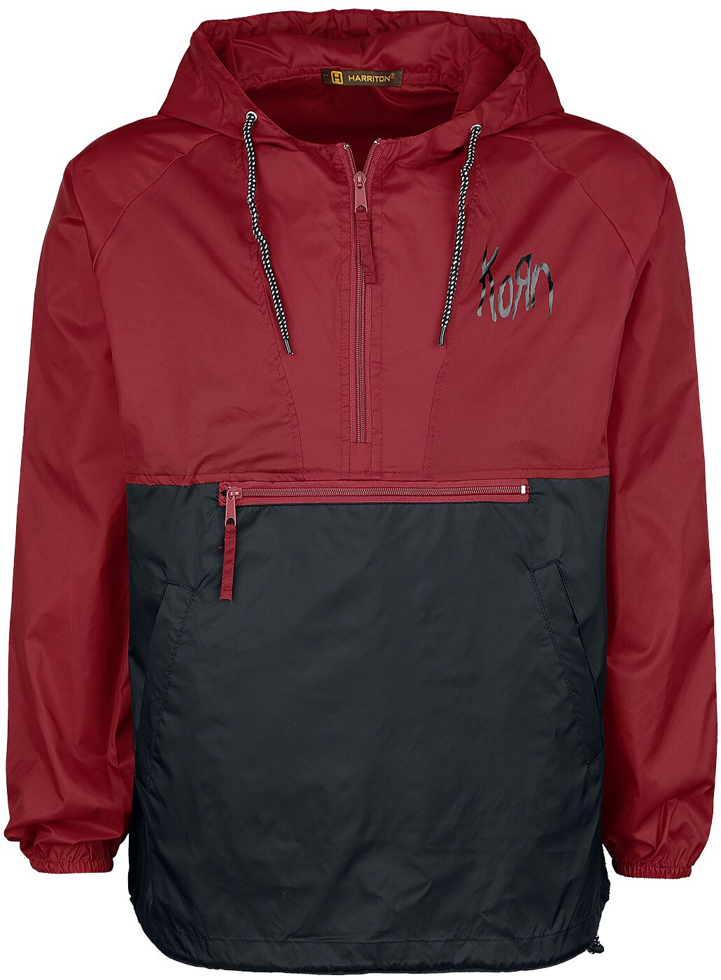 Image of   Korn Windbreaker Windbreaker sort