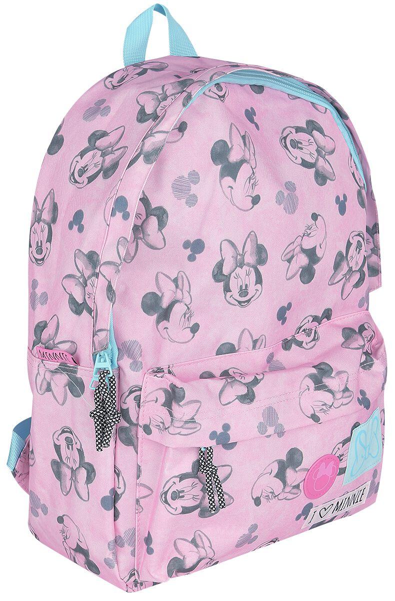 Rucksaecke für Frauen - Micky Maus Minnie Rucksack rosa  - Onlineshop EMP