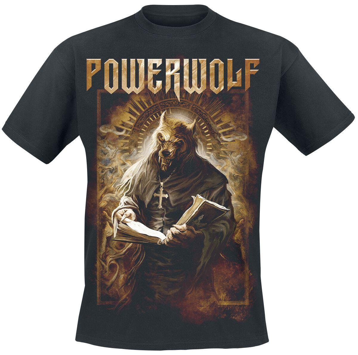 Image of   Powerwolf Stossgebet T-Shirt sort