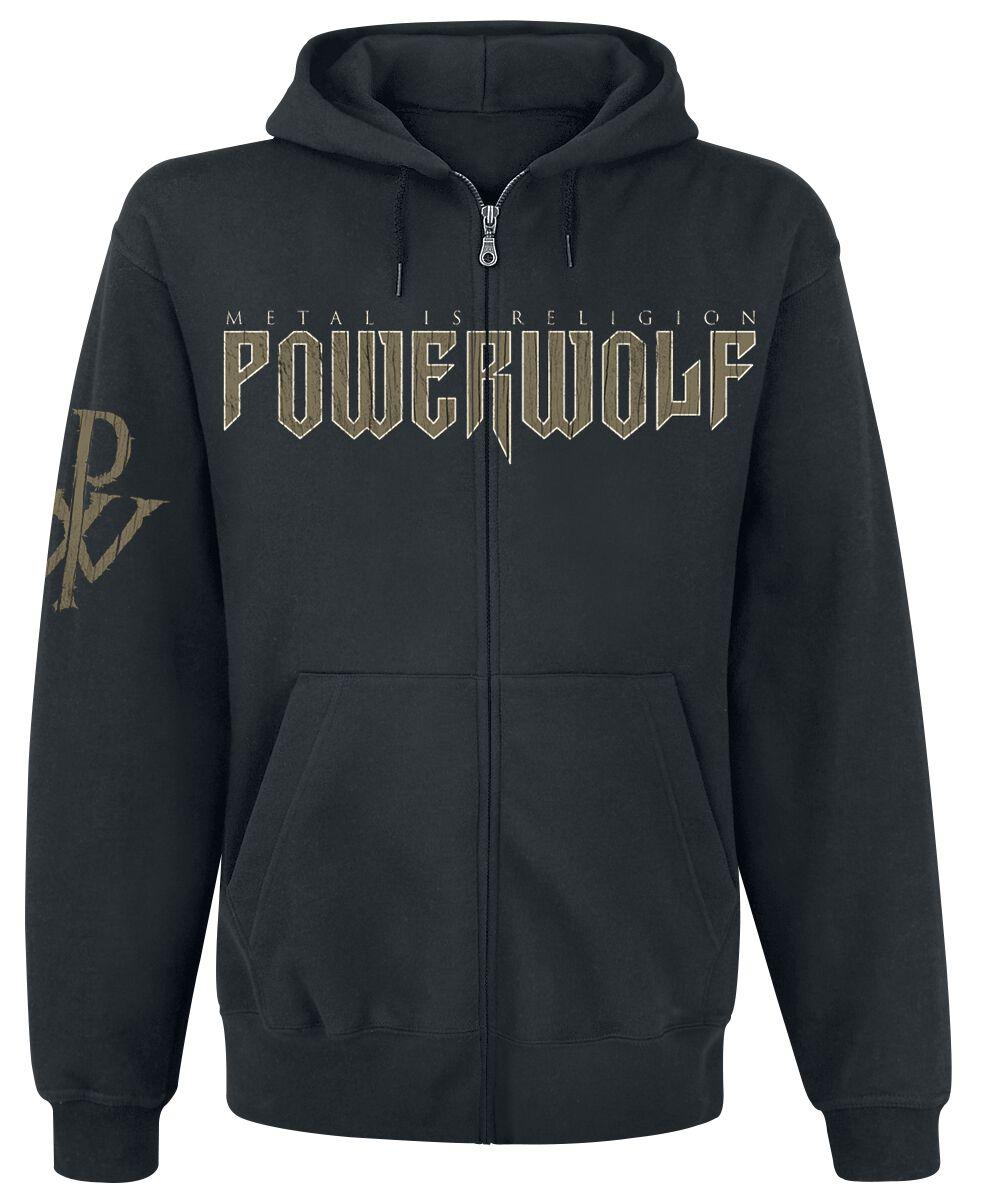 Image of   Powerwolf Wolf Sign Hættejakke sort