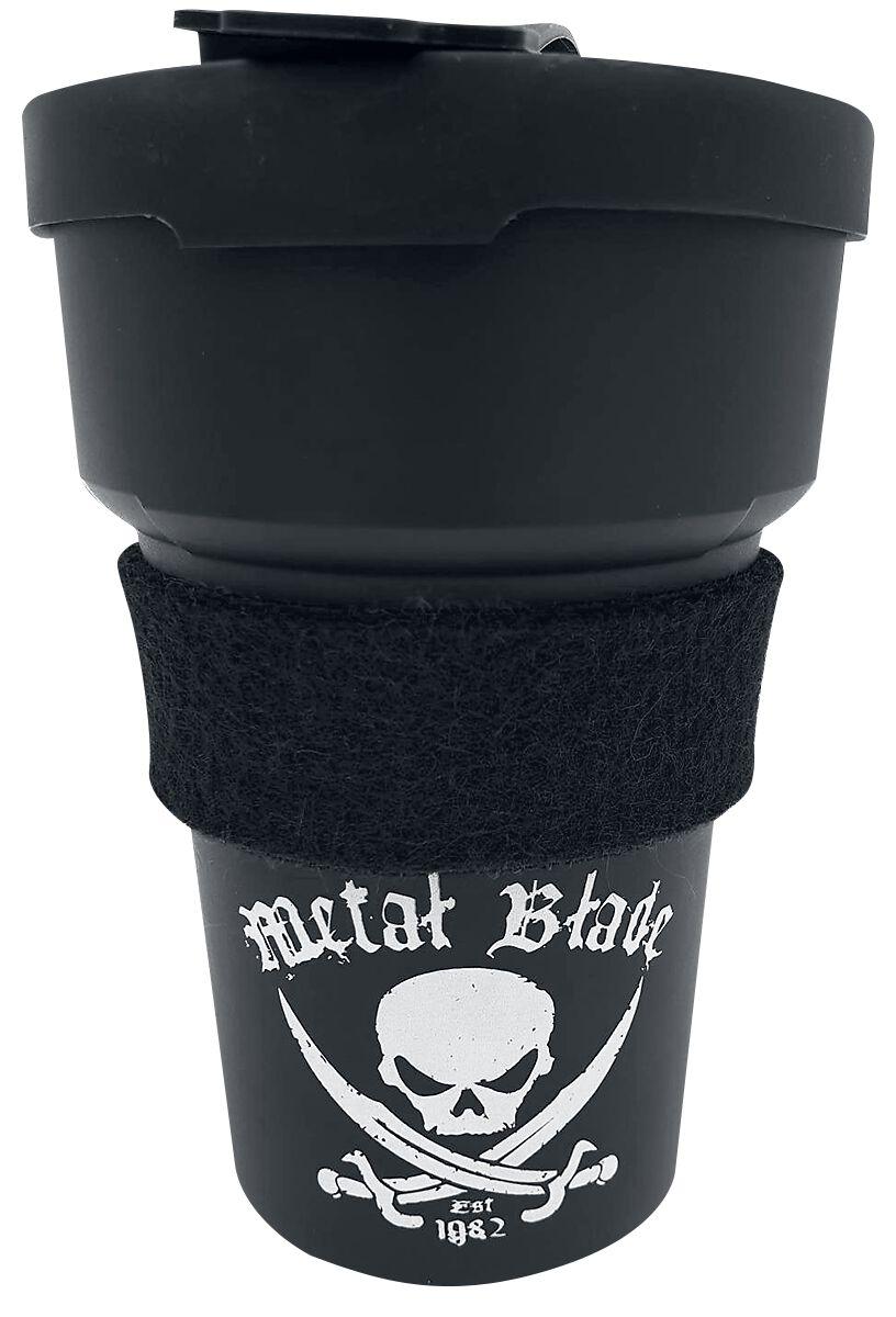 Image of   Metal Blade Pirate Logo Krus sort