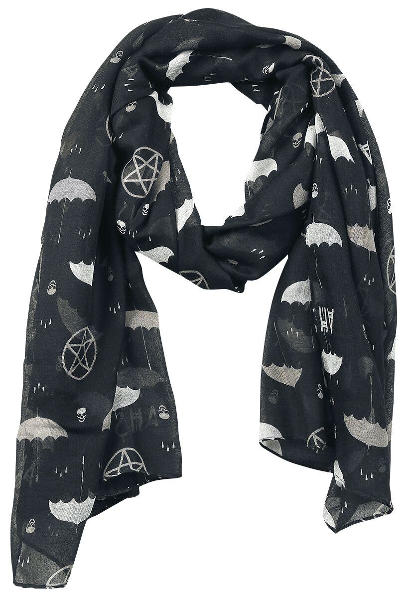 Schals für Frauen - American Horror Story Umbrella Schal schwarz grau weiß  - Onlineshop EMP