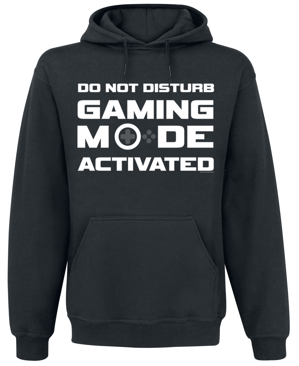 Do Not Disturb - Gaming Mode Activated - - Hooded sweatshirt - black
