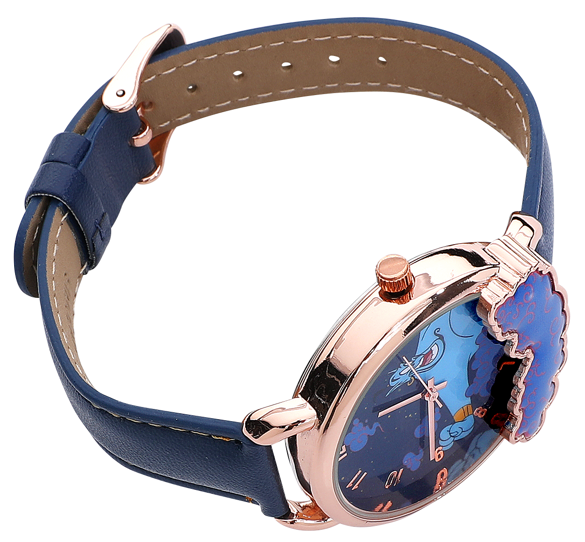 Image of Aladdin Genie Armbanduhr blau