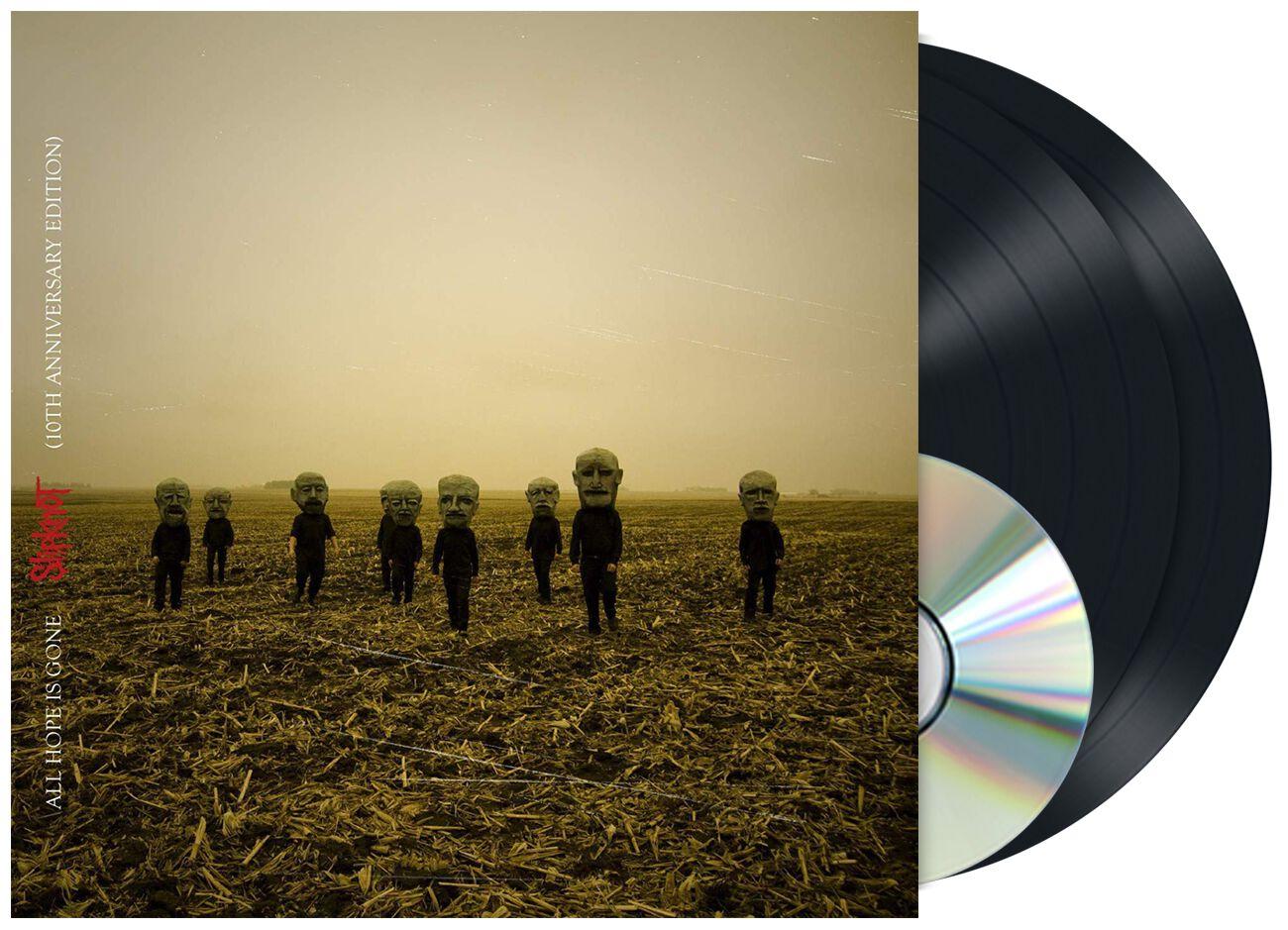 Image of   Slipknot All hope is gone 2-LP & CD standard