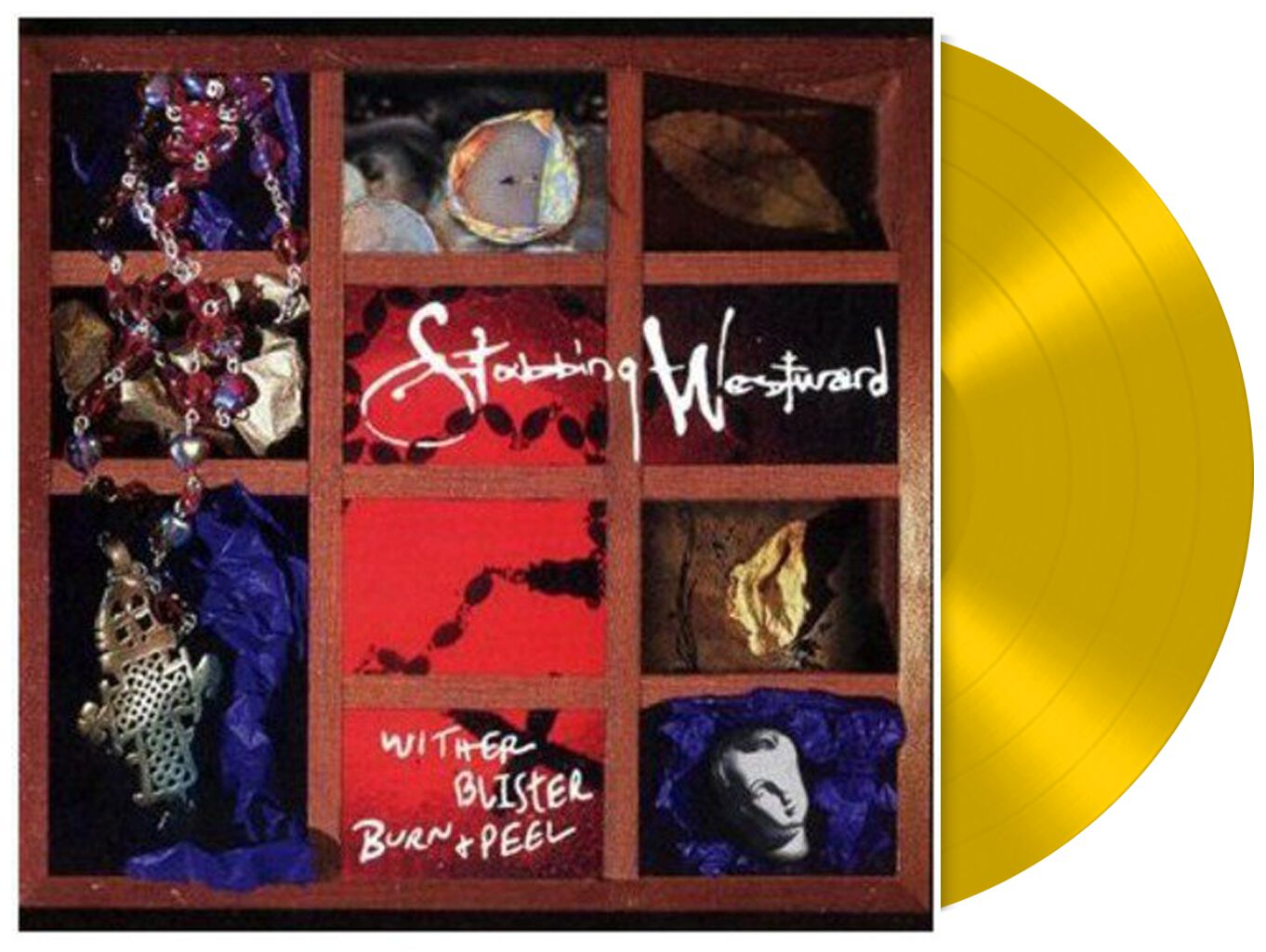 Image of   Stabbing Westward Wither blister burn & peel LP gul