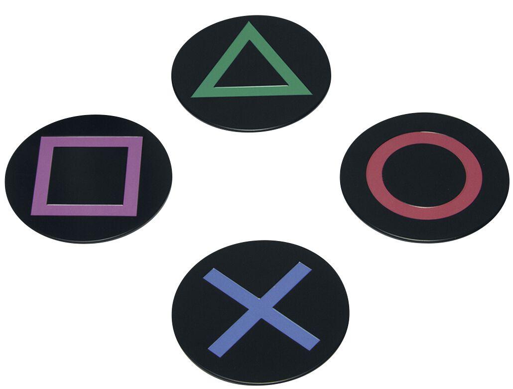 Playstation Playstation Icons Untersetzer multicolor PP4134PS