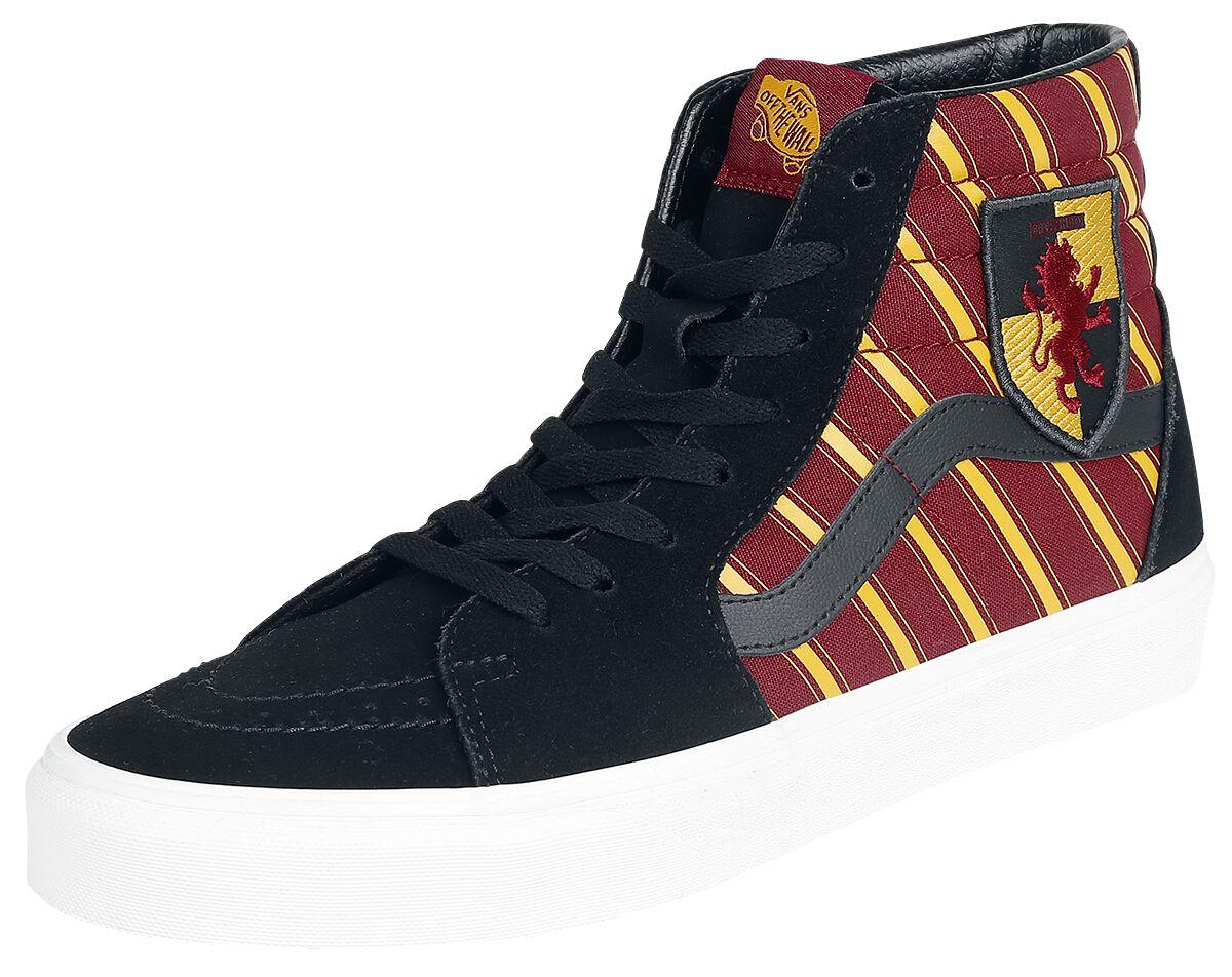 Sneakers für Frauen - Vans SK8 hHi Harry Potter Gryfndr MLT Sneaker multicolor  - Onlineshop EMP