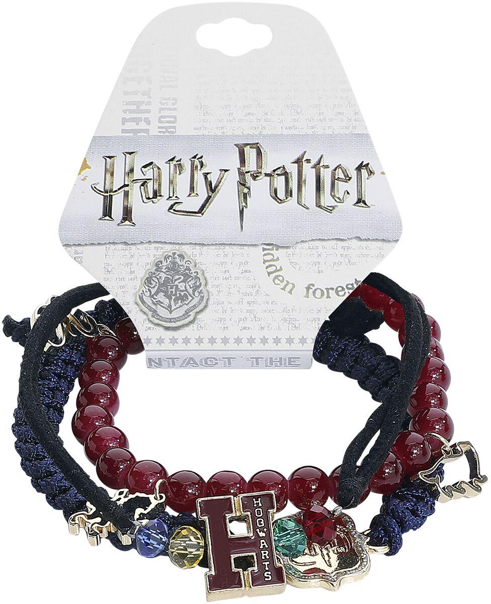 Armbaender für Frauen - Harry Potter Hogwarts Armband Set multicolor  - Onlineshop EMP