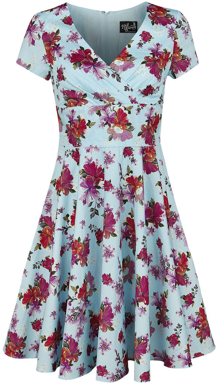 Kleider für Frauen - Hell Bunny Alyssa Mid Dress Kleid multicolor  - Onlineshop EMP