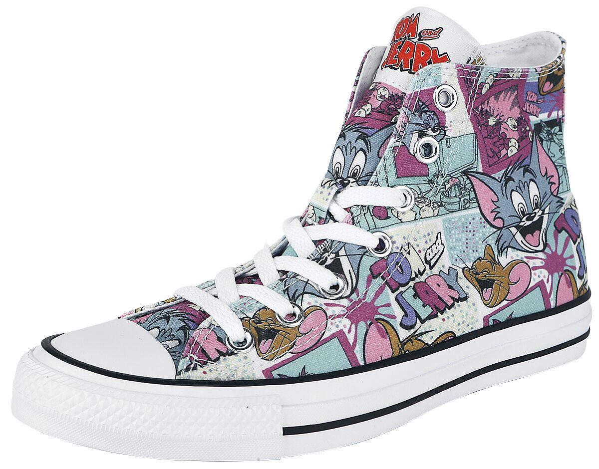Sneakers für Frauen - Converse Tom Jerry Chuck Taylor All Star Hi Sneaker multicolor  - Onlineshop EMP