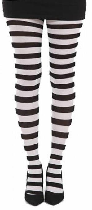 Strumpfhosen für Frauen - Pamela Mann Twickers Tights Strumpfhose schwarz weiß  - Onlineshop EMP