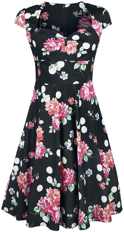 Kleider für Frauen - Hell Bunny Carole 50's Dress Kleid multicolor  - Onlineshop EMP