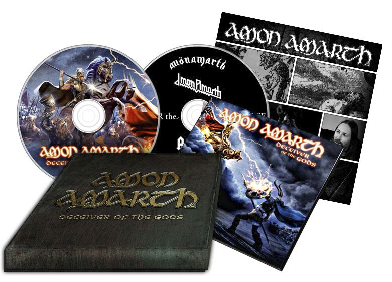 Image of   Amon Amarth Deceiver of the gods 2-CD & DVD standard