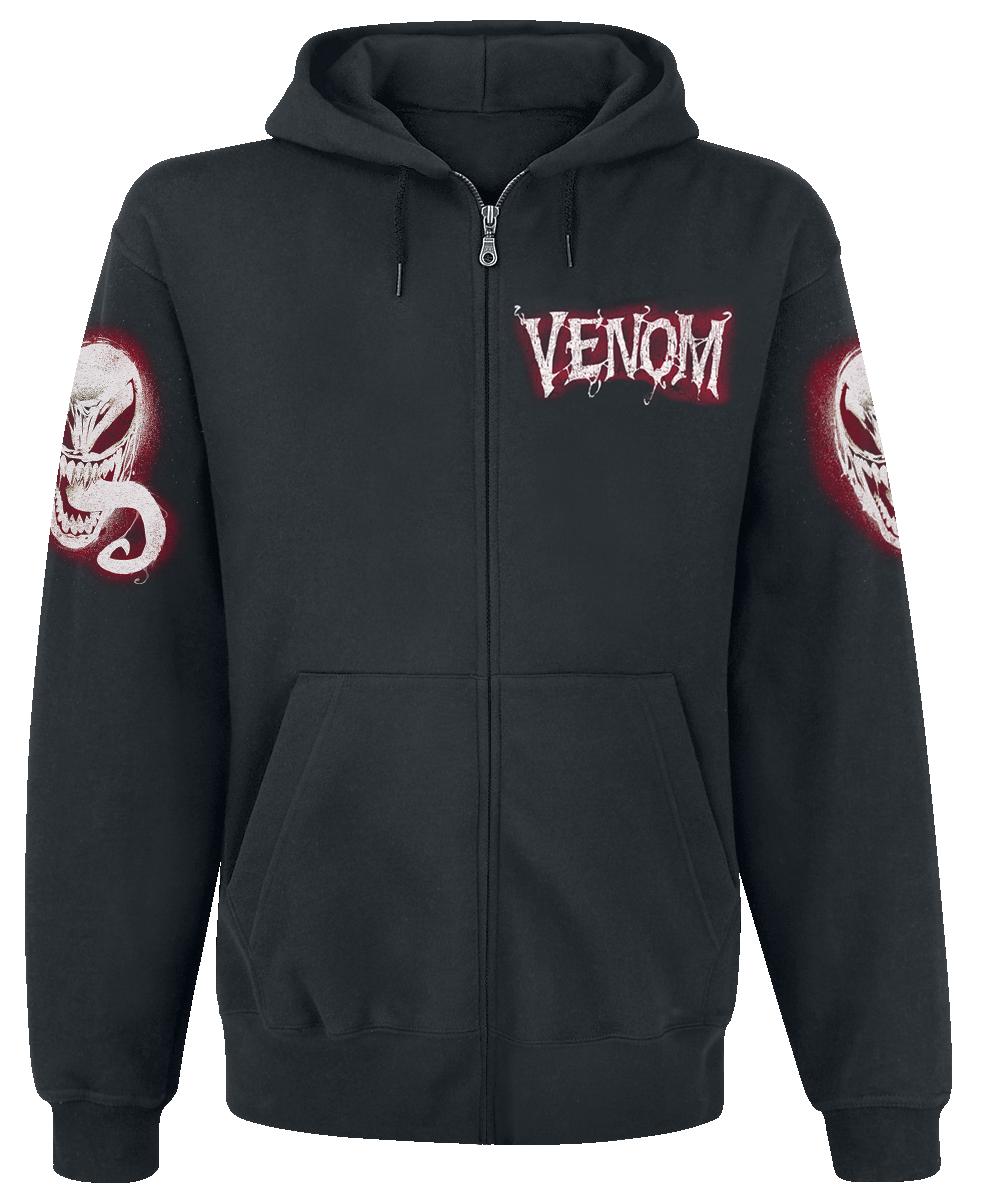 Venom (Marvel) - Cobweb - Hooded zip - black image