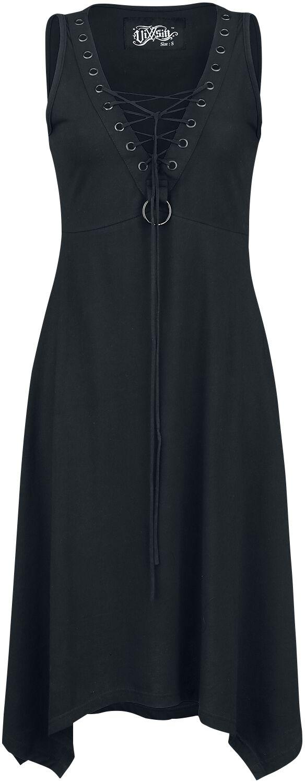 Kleider für Frauen - Vixxsin Mora Dress Kleid schwarz  - Onlineshop EMP
