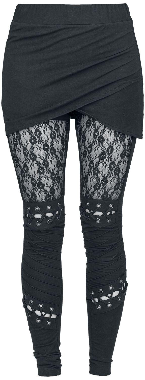 Hosen für Frauen - Poizen Industries Myth Legging Leggings schwarz  - Onlineshop EMP