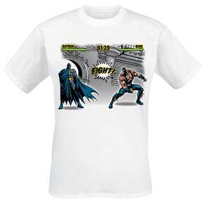 Batman Fight T-shirt blanc