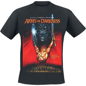 Army Of Darkness Poster T-shirt noir