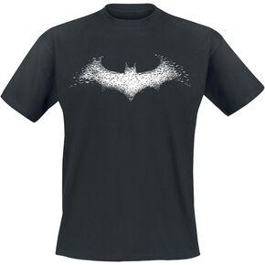 Batman Bats Logo T-shirt noir