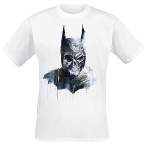 Batman Gothic Skull T-shirt blanc
