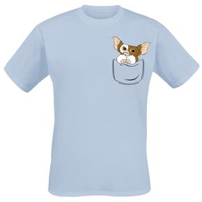 Gremlins Gizmo - Pocket T-shirt bleu