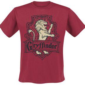 Harry Potter Gryffindor - Brave T-shirt rouge