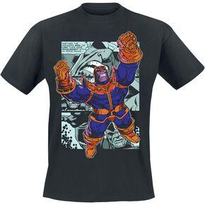 Marvel Comics - Thanos Comic Strip T-shirt noir