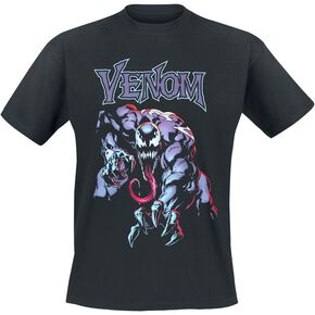 Venom (Marvel) Grab T-shirt noir
