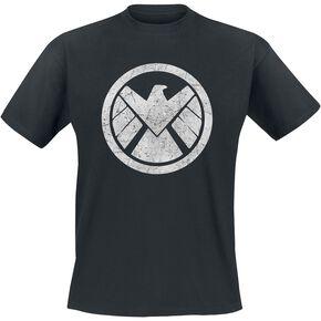 Avengers Shield T-shirt noir