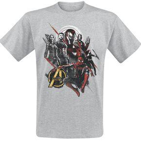 Avengers Infinity War - Good Mix T-shirt gris chiné