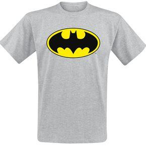 Batman Logo T-shirt gris chiné
