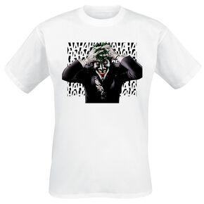 Le Joker Sinister Joker T-shirt blanc