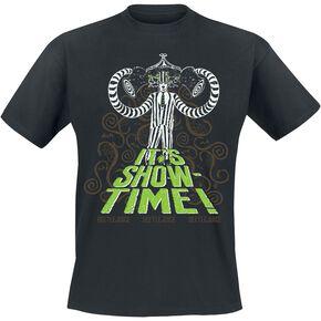 Beetlejuice Showtime T-shirt noir
