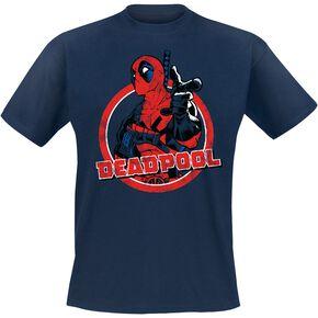 Deadpool Point T-shirt bleu