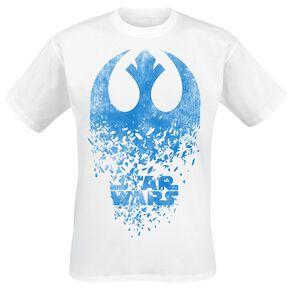 Star Wars Episode 8 - Die letzten Jedi - Jedi Badge Explosion T-shirt blanc