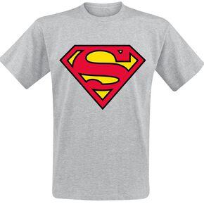 Superman Logo T-shirt gris chiné