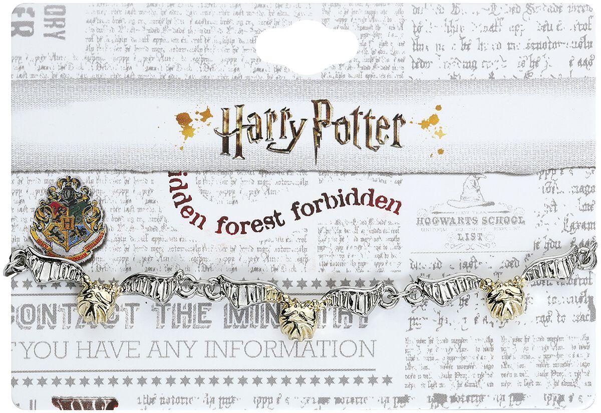 Armbaender für Frauen - Harry Potter Goldener Schnatz Armband silberfarben  - Onlineshop EMP