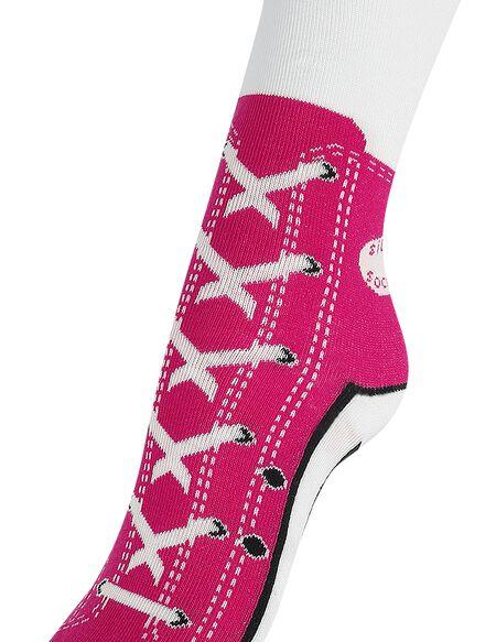 Sneaker Socks Chaussettes rose
