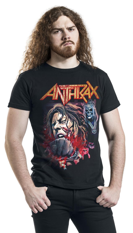 Image of Anthrax Fist Full Halloween T-Shirt schwarz