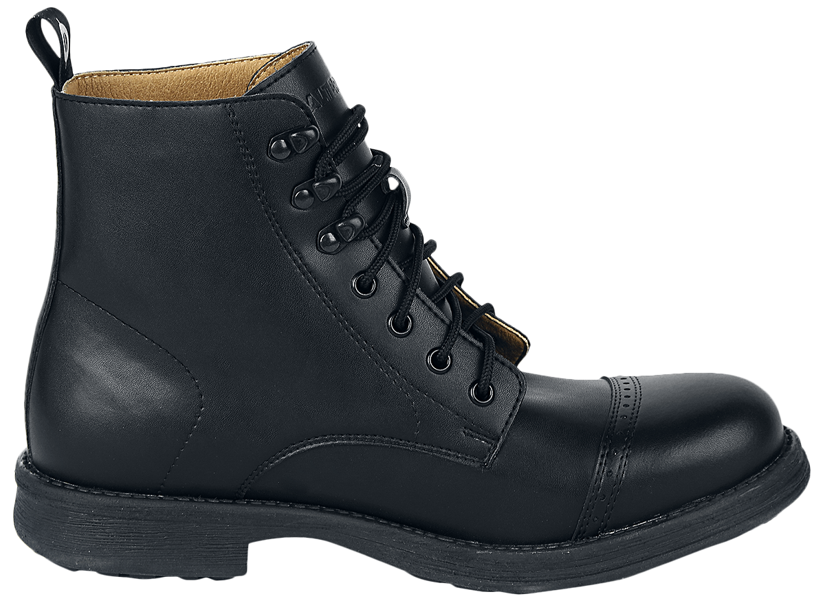 Image of Altercore Tevo Vegan Stiefel schwarz
