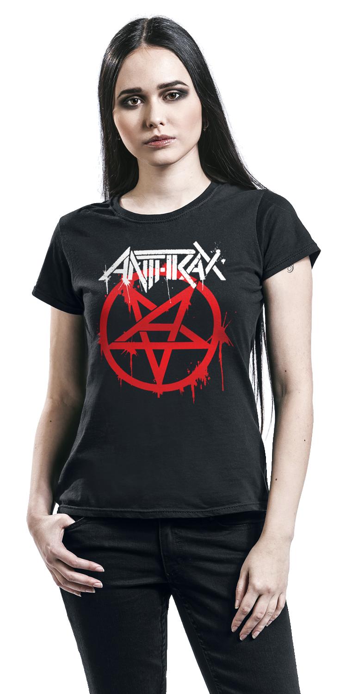 Image of Anthrax Anthems Girl-Shirt schwarz