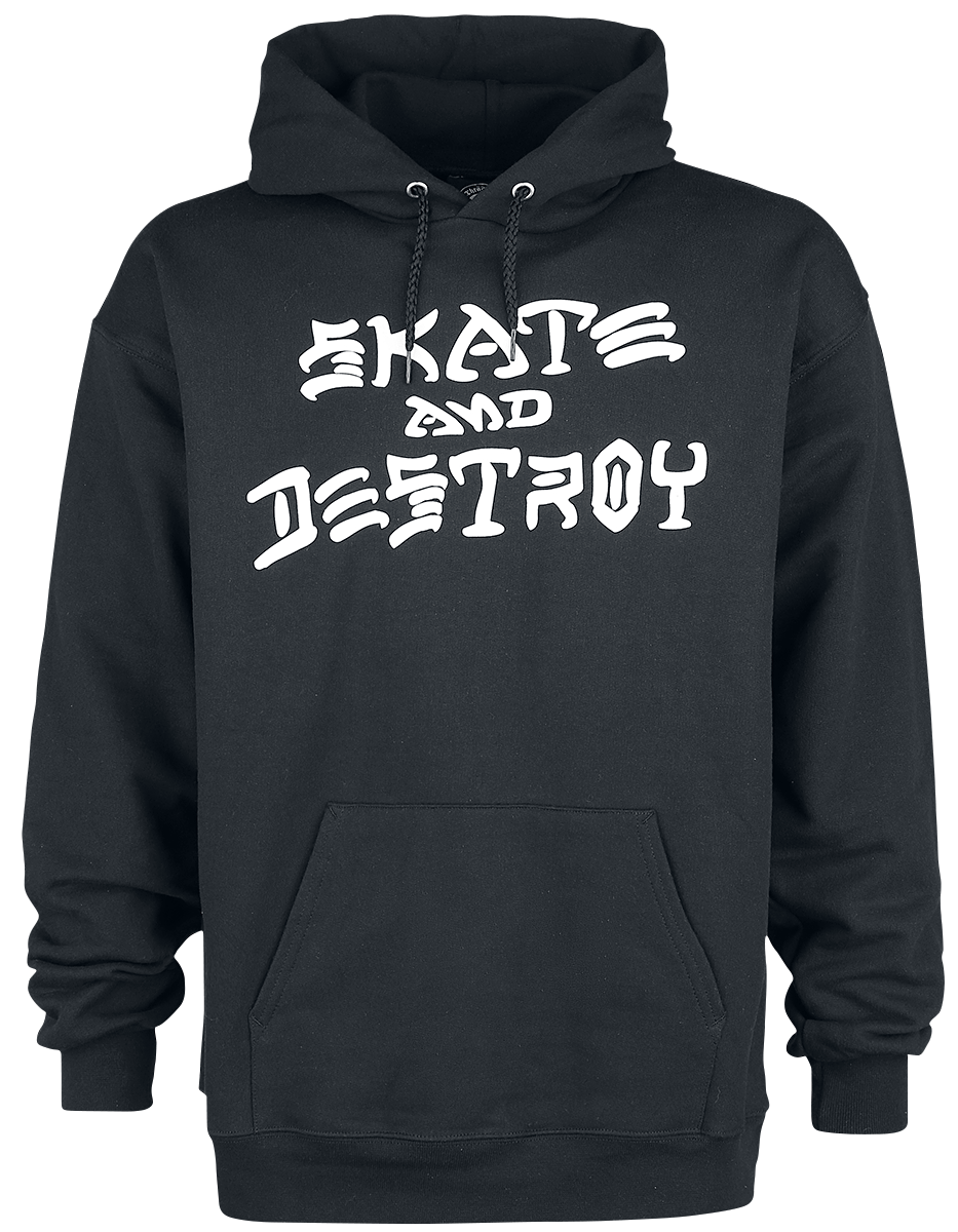 Thrasher - Skate and Destroy Hood - Hooded sweatshirt - black image