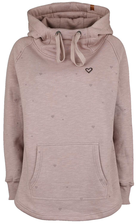Alife and Kickin - Mara - Girls hooded sweatshirt - Rose image