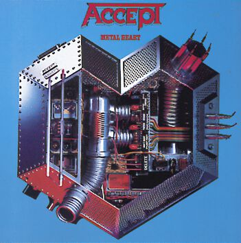 Image of   Accept Metal heart CD standard