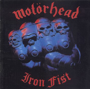 Image of   Motörhead Iron fist CD standard