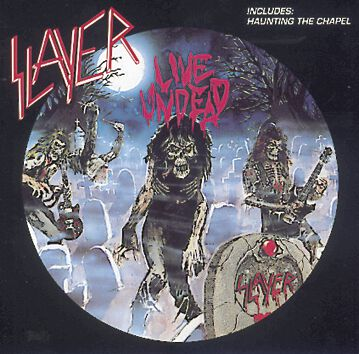 Image of   Slayer Live undead/Haunting the chapel CD standard