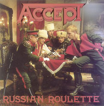 Accept Russian roulette CD Standard