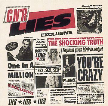 Image of   Guns N' Roses Lies CD standard