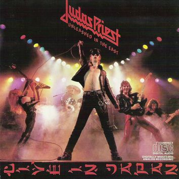 Image of   Judas Priest Unleashed in the east CD standard